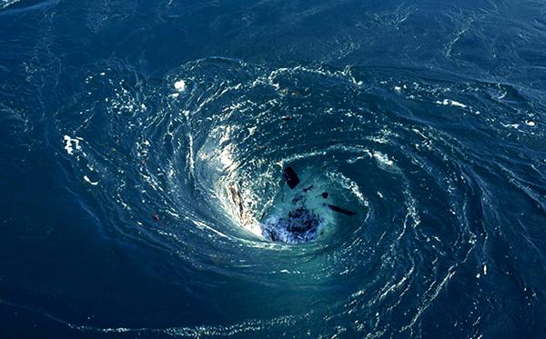 O gaură neagră în Atlantic