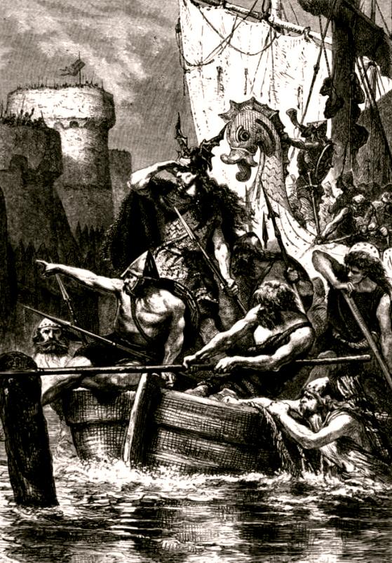 Atacul viking condus de contele Ragnar asupra Parisului