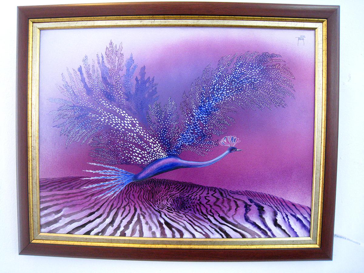 Paula Tudor, o pictoriţă care uimeşte mereu şi sensibilizează (2)