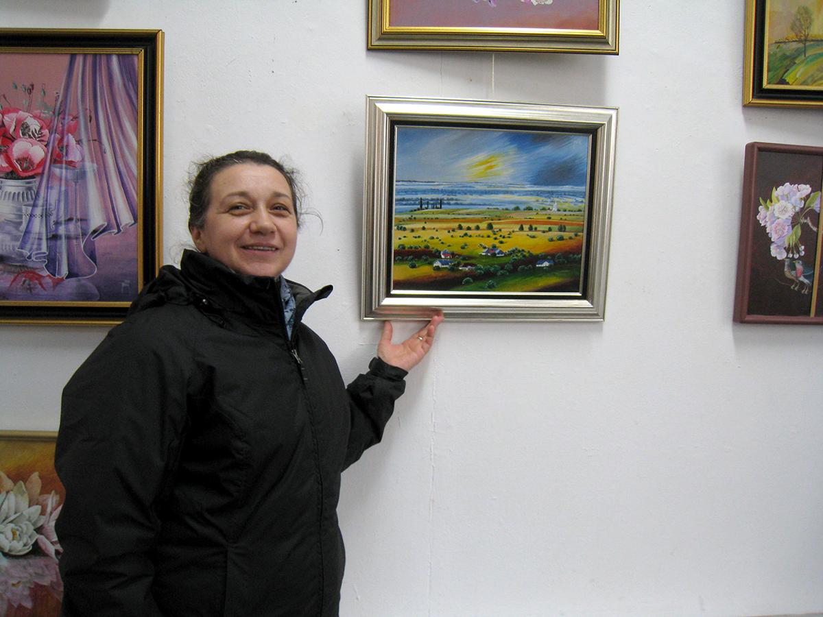 Paula Tudor, o pictoriţă care uimeşte mereu şi sensibilizează (3)