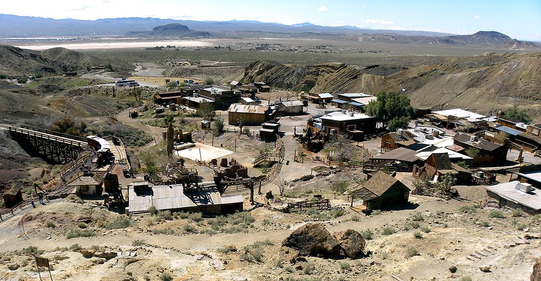 Calico, oraşul fantomă din deşertul Mojave (1)