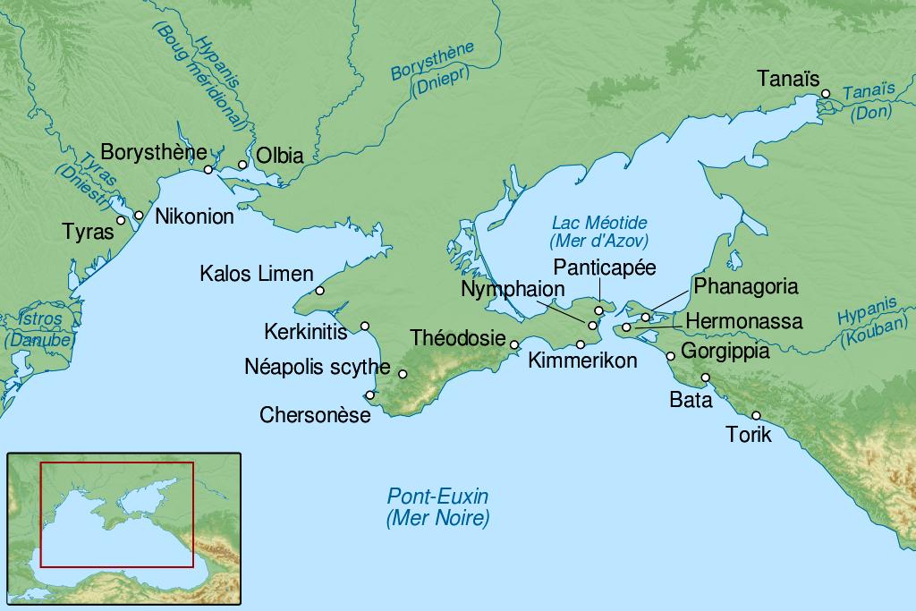 Istoria Crimeei până la Hanat