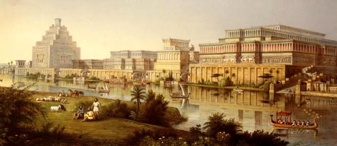 Ruinele anticului oraş Nimrud distrus cu buldozerele (2)