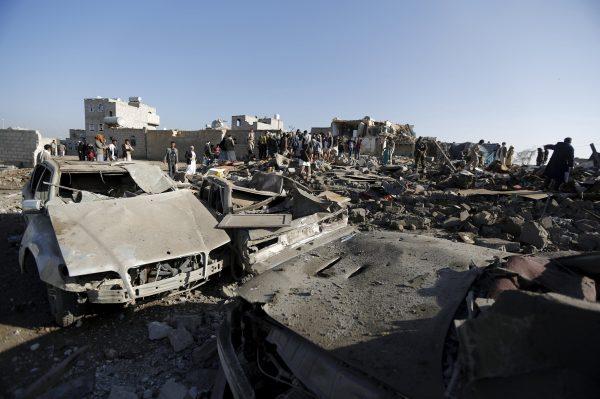 Coaliţia a folosit bombe cu fosfor asupra Yemenului (1)
