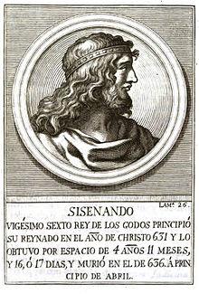 Regele vizigot Sisenand