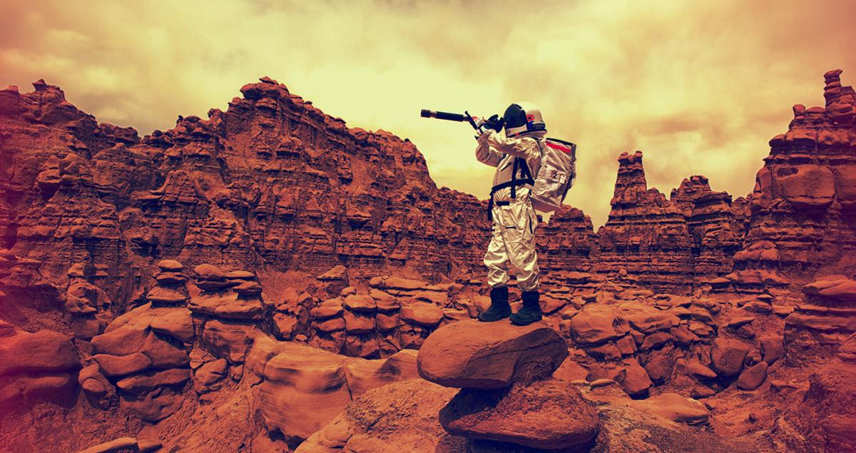 Colonia de pe Marte a extratereştrilor (1)