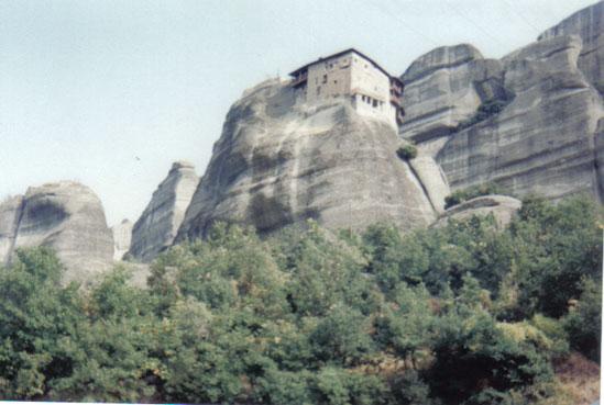 Mănăstirile de la Meteora