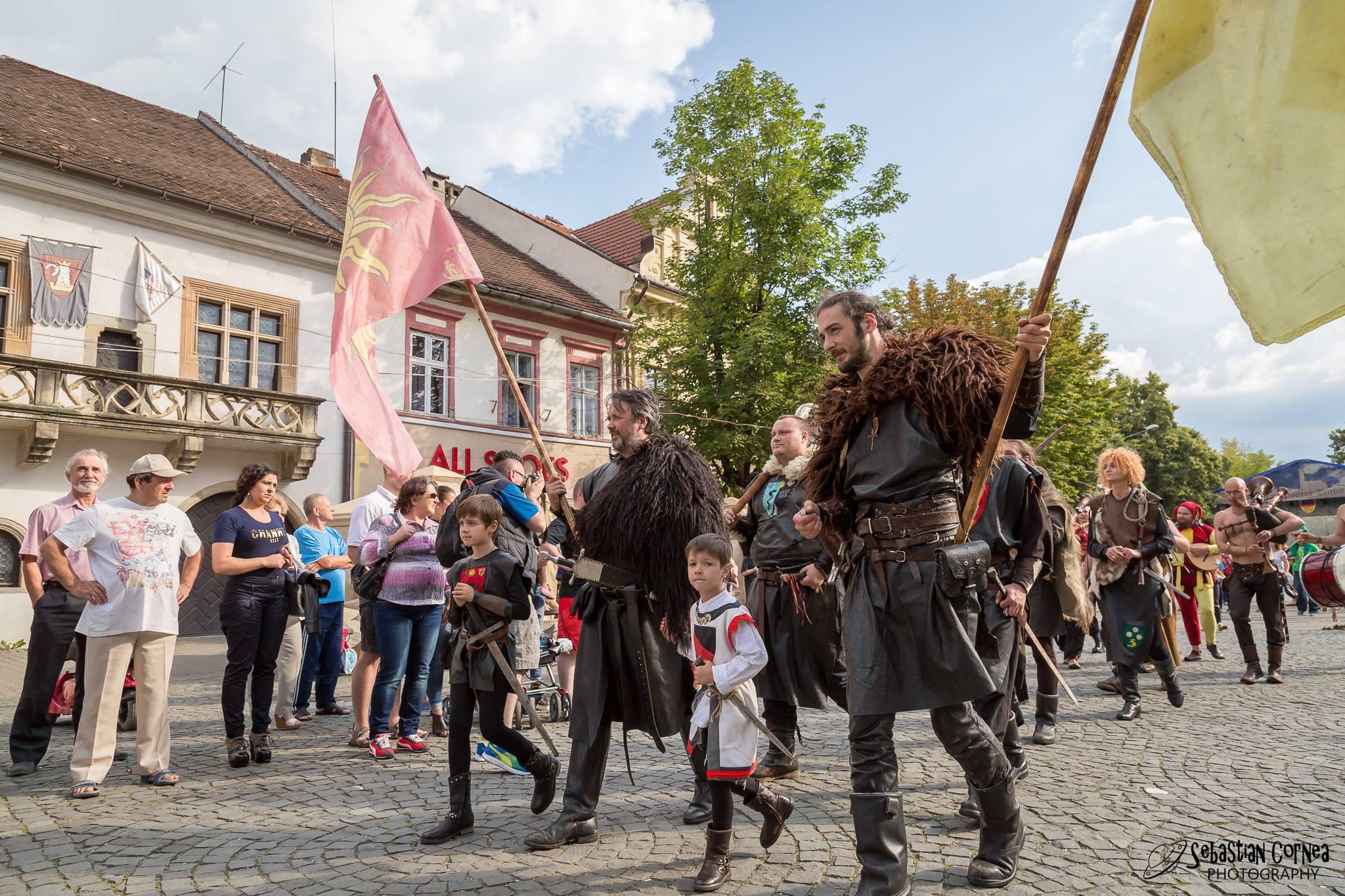 Începe festivalul Sighişoara Medievală