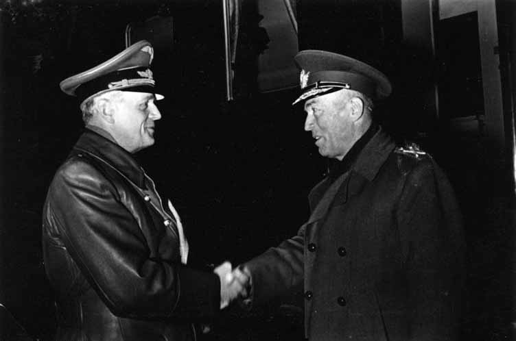 Joackim von Ribbentrop si Ion Antonescu
