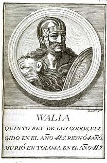 Wallia - regele vizigoţilor