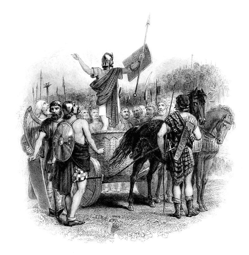 Calgacus sursa Wikipedia