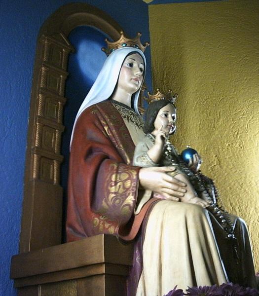 Statuia Fecioarei Maria din Coromoto. Autor Guillermo Ramos Flamerich. Sursă Wikipedia.