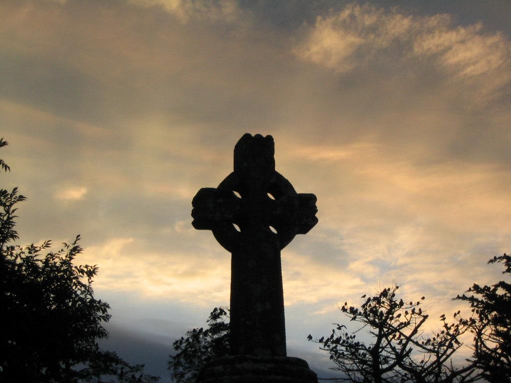 Crucea celtică din Knock, Irlanda. Foto de Sebd. Sursa Wikipedia.