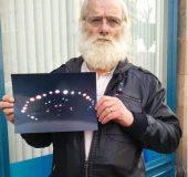 Un OZN impresionant a apărut brusc la Perth, Australia
