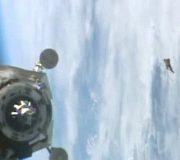 ISS a filmat  în ianuarie 2016 misteriosul Black Knight