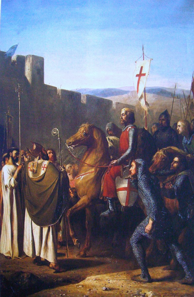 Baldwin_of_Boulogne_entering_Edessa_in_Feb_1098