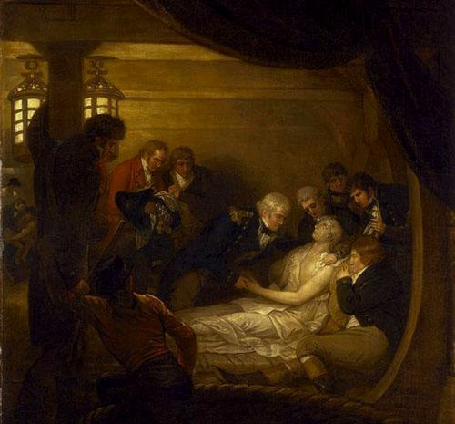 Moartea eroică a lordului Nelson 2