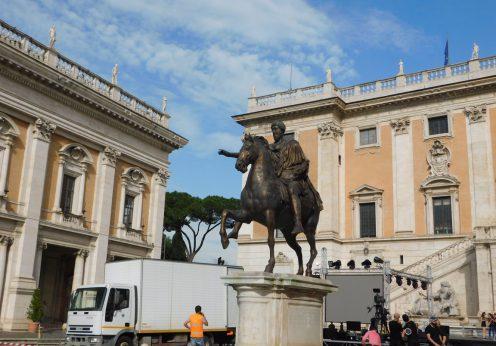 Piața Capitolului din Roma3