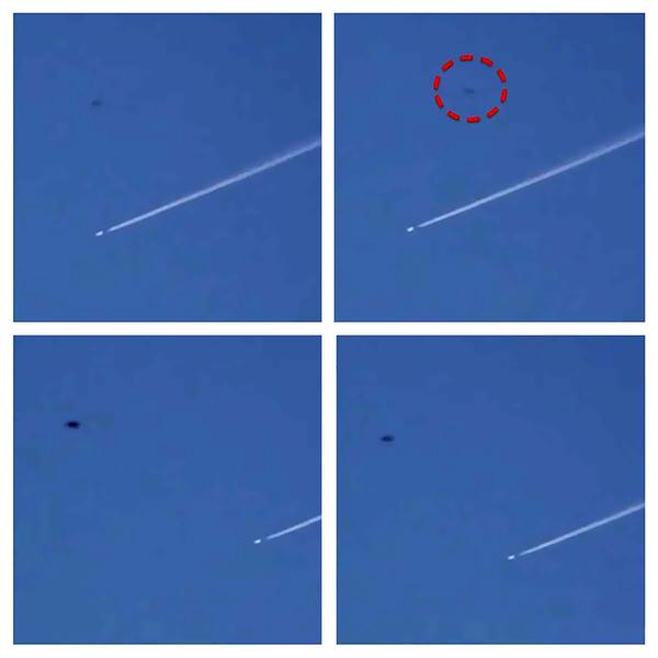 Una avion a lovit un OZN la Denver
