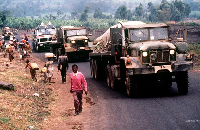 Salvați de extratereștri în timpul genocidului din Rwanda