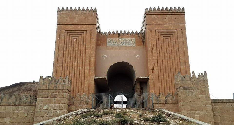 Teroriştii au aruncat în aer zidurile de la Ninive