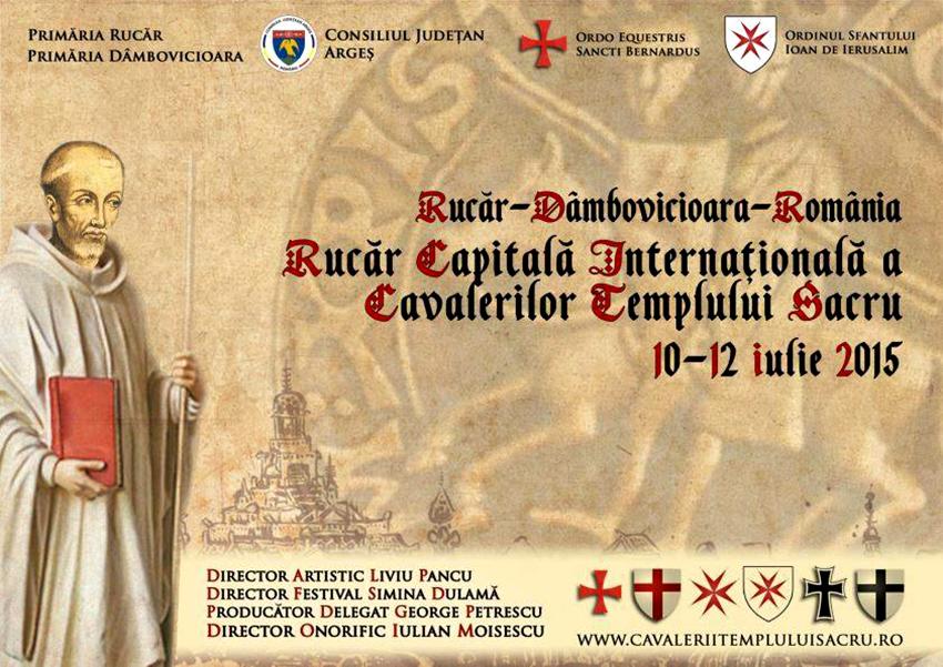Rucăr, capitala internaţională a cavalerilor Templului Sacru