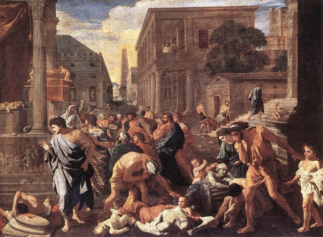 Ciuma bubonică, Apocalipsa Evului Mediu