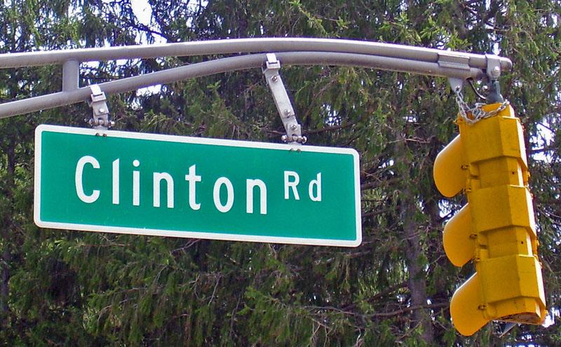 Clinton_Road_sign foto de Daniel Case