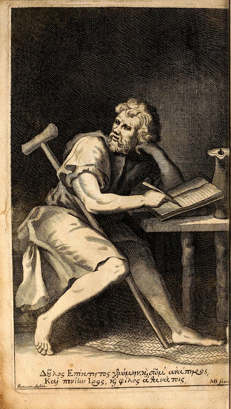 epicteti_enchiridion_latinis_versibus_adumbratum_oxford_1715_frontispiec