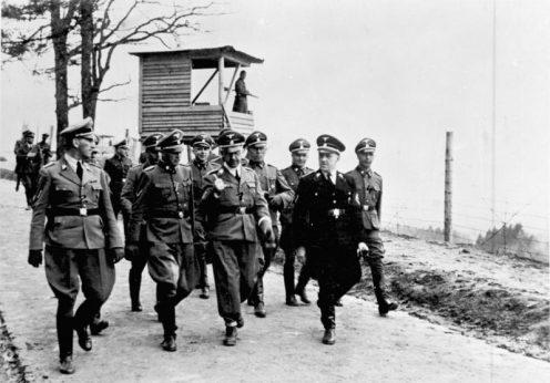 Kz Mauthausen, Besuch Heinrich Himmler, Franz Ziereis