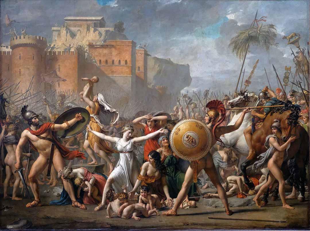 Sabinele, o capodoperă de David
