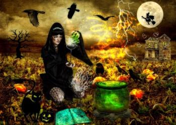 Originile magiei negre şi practicarea sa