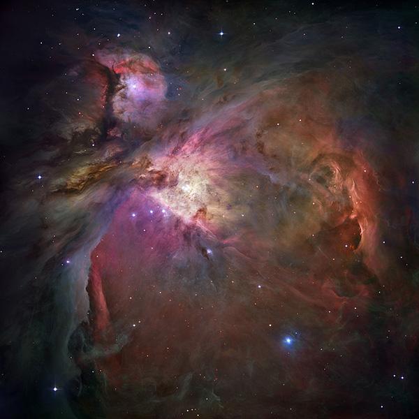 Stranie formă umană pe nebuloasa din Orion