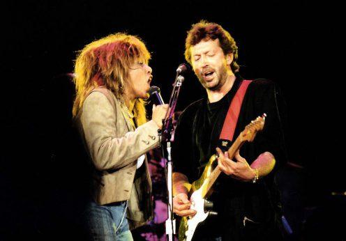 TinaTurner&Clapton